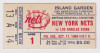 1969 ABA Los Angeles Stars at New York Nets ticket stub