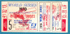 1970 World Series Game 5 unused ticket Reds at Orioles