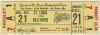 1975 ABA Baltimore Claws at Spirits of St. Louis ticket stub