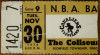 1976 NBA Denver Nuggets at Cleveland Cavaliers ticket stub