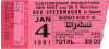 1981 REO Speedwagon Oklahoma City Myriad ticket stub