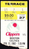 1982 Celtics at SD Clippers 10