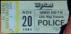 1983 The Police Myriad Oklahoma City ticket stub