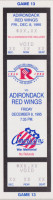 1995 AHL Adirondack Red Wings at Rochester Americans ticket stub