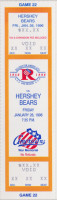 1995 AHL Hershey Bears at Rochester Americans ticket stub