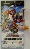 1995 Red Wings at Avalanche 1st home game ticket stub