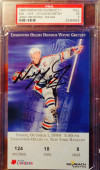 1999 Rangers at Oilers Gretzky Jersey retirement ticket stub