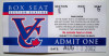 2002 Northwest League Vancouver Canadians ticket stub