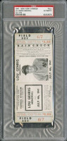 1941 Lou Gehrig Memorial Game ticket stub
