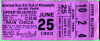 1953 Tigers at Athletics Al Kaline Debut ticket stub