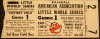 1954 MiLB American Association Playoffs Louisville Colonels at Indianapolis Indians ticket stub