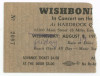 1973 Wishbone Ash Akron ticket stub