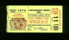 1974 Braves at Reds Aaron ties Ruth ticket stub