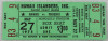 1975 MiLB PCL Phoenix Firebirds at Hawaii Islanders ticket stub
