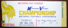 1976 NFC Championship Game ticket stub Rams vs Vikings