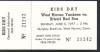 1977 MiLB Eastern League Bristol Red Sox at West Haven Yankees ticket stub