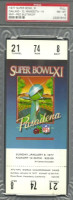 1977 Super Bowl Raiders vs Vikings full ticket