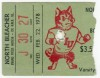 1978 NCAAF Bowling Green at Northern Illinois ticket stub