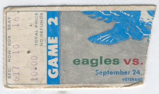 The NFL is back, but are NFL ticket stubs?