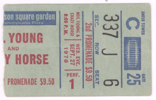 1978 Neil Young Madison Square Garden 20