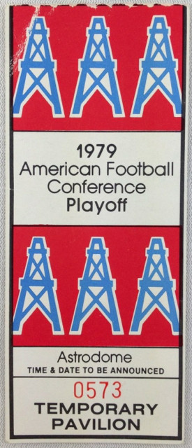 1979 AFC Playoffs Broncos at Oilers