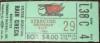 1980 MiLB Syracuse Chiefs at Rochester Red Wings ticket stub