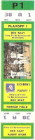 1980s MiLB Intl League Richmond Braves ticket stub