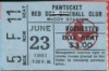 1981 Pawtucket Red Sox ticket stub vs Rochester