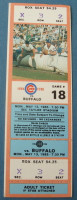 1985 MiLB Buffalo Bisons at Iowa Cubs ticket stub