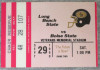 1990 NCAAF Boise State at Long Beach State ticket stub