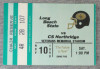 1990 NCAAF Cal State Northridge at Long Beach State ticket stub
