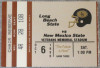 1990 NCAAF New Mexico State at Long Beach State ticket stub
