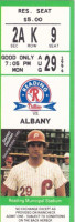 1994 MiLB Eastern League Albany-Colonie Yankees at Reading Phillies ticket stub