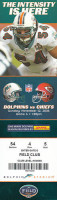 2006 Chiefs at Dolphins ticket stub