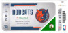 2010 NBA Celtics at Bobcats ticket stub