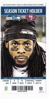 2014 49ers at Seahawks ticket