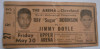 1947 Boxing Sugar Ray Robinson vs Jimmy Doyle ticket stub