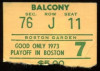 1973 NBA Conf Finals Gm 7 Knicks at Celtics Walt Frazier scores 25 15