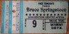 1978 Bruce Springsteen Dallas Ticket Stub