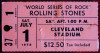 1978 Rolling Stones Cleveland ticket stub