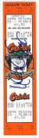 1991 White Sox at Orioles ticket stub