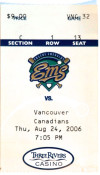 2006 MiLB Vancouver at Eugene ticket stub