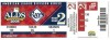 2008 ALDS White Sox at Rays Gm 2 ticket stub
