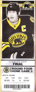 2011 Stanley Cup Final Gm 6 Canucks at Bruins ticket stub 20