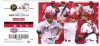2015 MLB Pirates at Reds Opening Day Ticket Stub