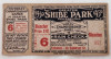 1930 World Series Game 6 Ticket Stub Cardinals vs Athletics