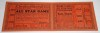 1935 MLB All Star Game Full Ticket