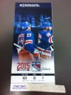 2015 NHL Eastern Conference Final Lightning at Rangers ticket stub