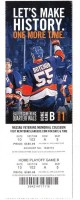 2015 NHL Playoffs Capitals at Islanders ticket stub