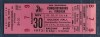 1973 ABA Squires at Conquistadors full ticket